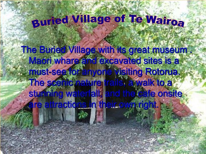 Buried Village of Te Wairoa