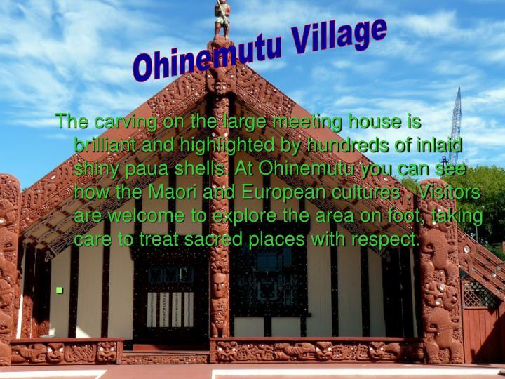 Ohinemutu Village