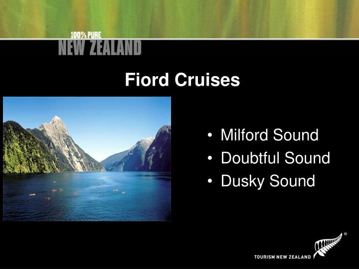 Fiord Cruises