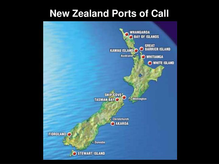 New Zealand Ports of Call