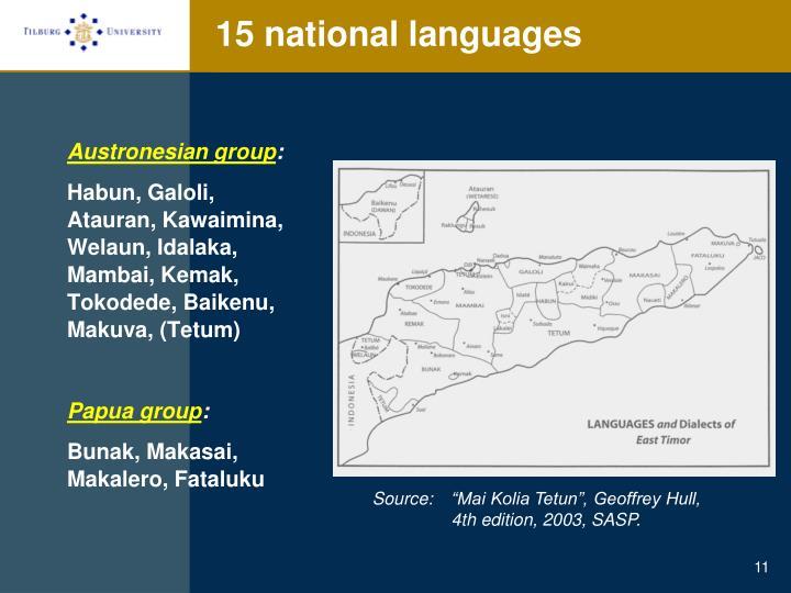 Austronesian group