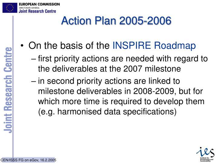 Action Plan 2005-2006