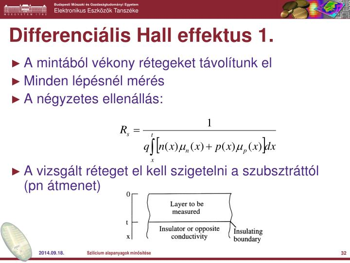 Differenciális Hall effektus 1.