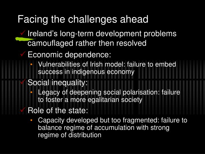 growth of the celtic tiger is Notwithstanding the social gains and economic growth of the 'celtic tiger',  poverty does exist on our island and risks increasing significantly in the current  crisis.