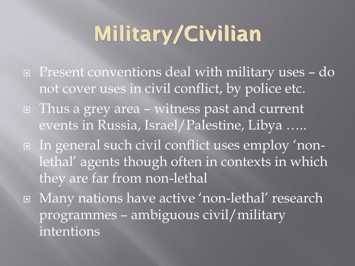 Military/Civilian
