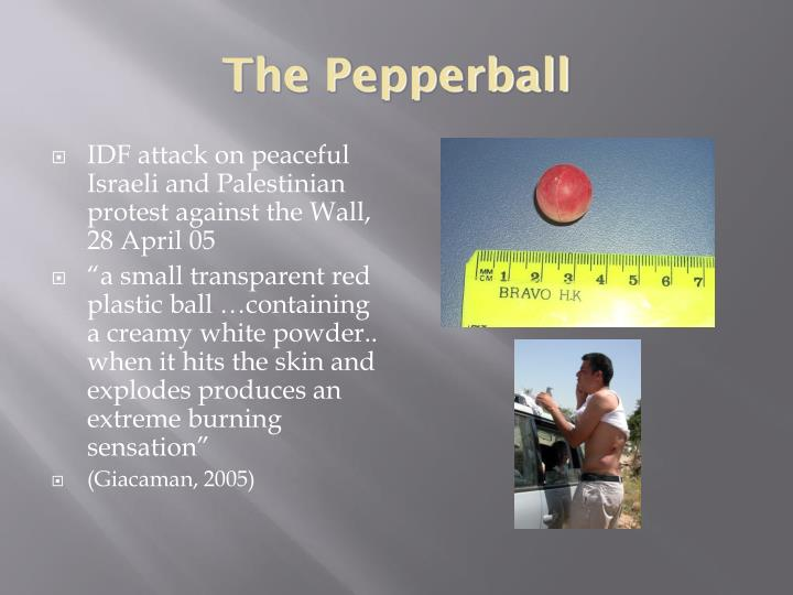 The Pepperball