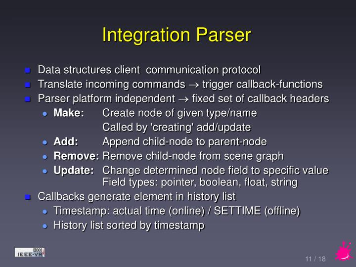 Integration Parser