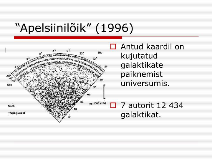 """Apelsiinilõik"" (1996)"