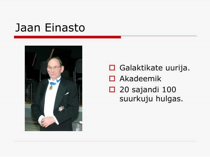 Jaan Einasto