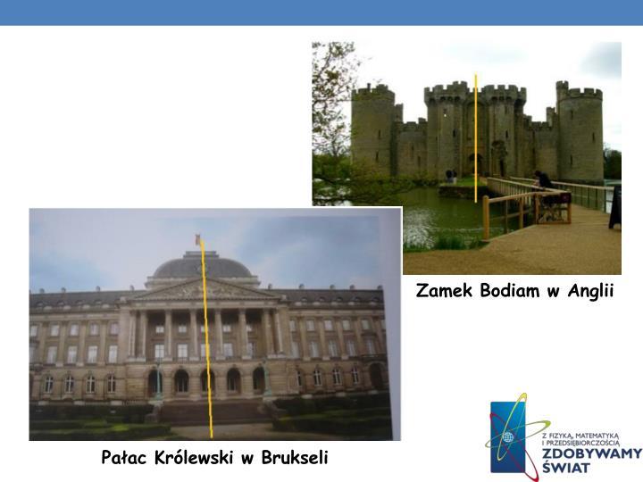 Zamek Bodiam w Anglii