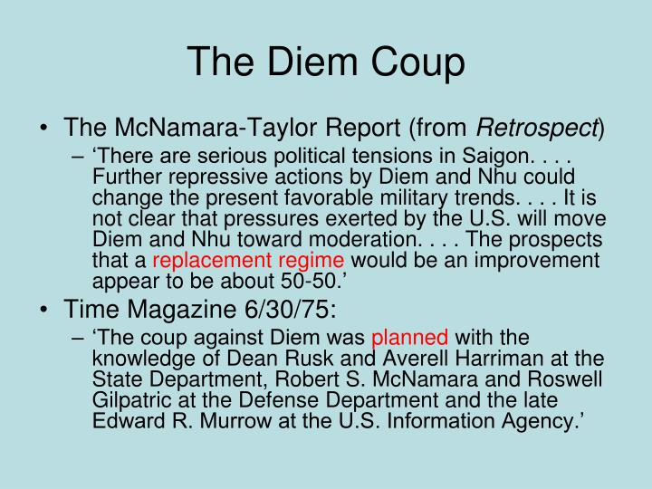 The Diem Coup