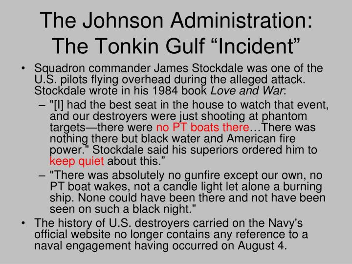 The Johnson Administration: