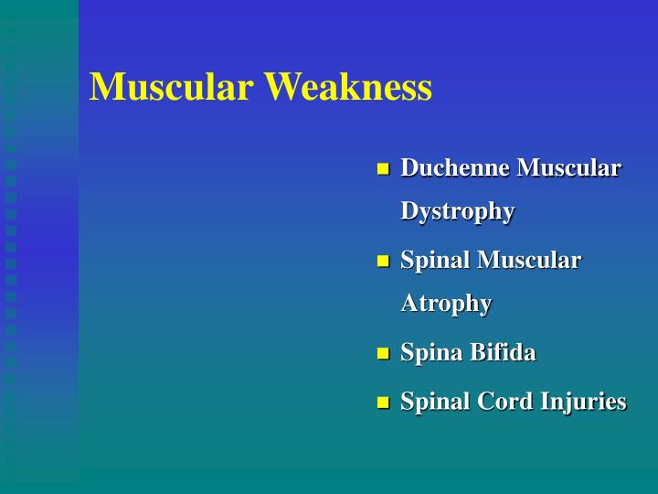 Muscular Weakness