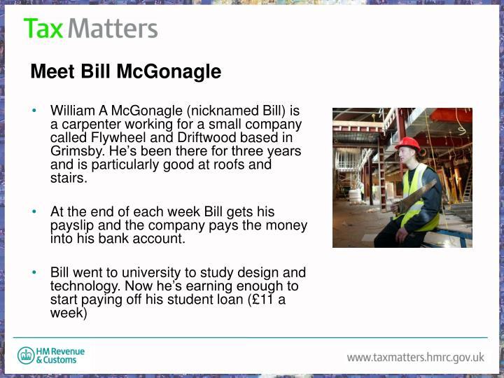 Meet Bill McGonagle