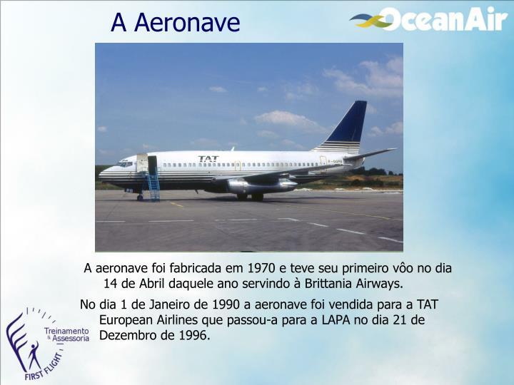 A Aeronave