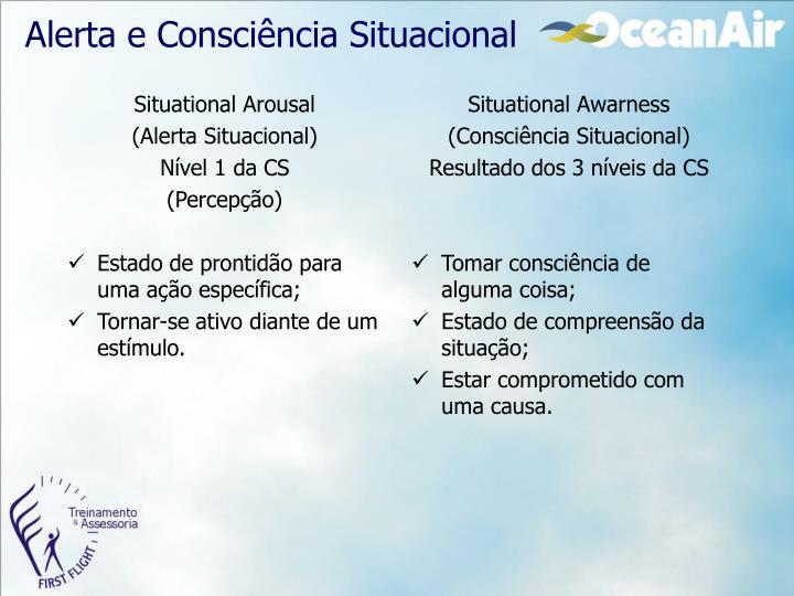 Alerta e Consciência Situacional