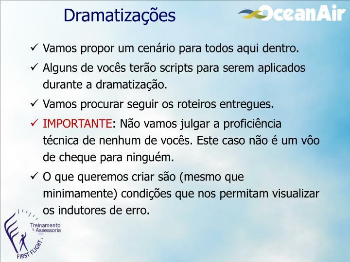Dramatizações