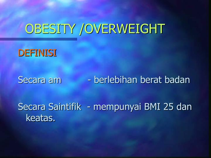Obesity overweight1