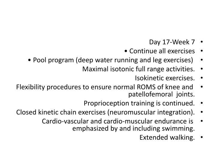 Day 17-Week 7
