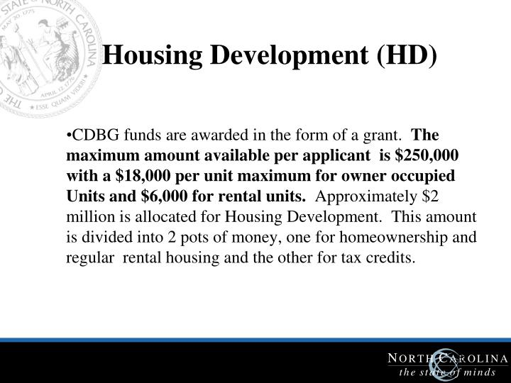 Housing Development (HD)