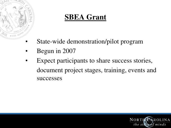 SBEA Grant
