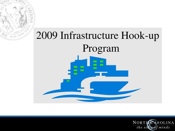 2009 Infrastructure Hook-up Program