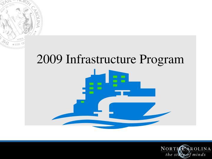 2009 Infrastructure Program