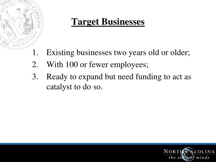 Target Businesses