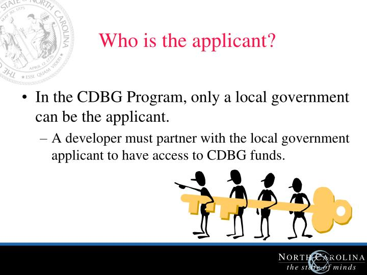 Who is the applicant?