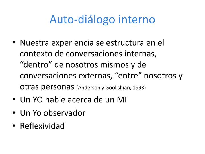 Auto-diálogo interno