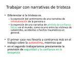 trabajar con narrativas de tristeza1