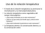 uso de la relaci n terap utica2