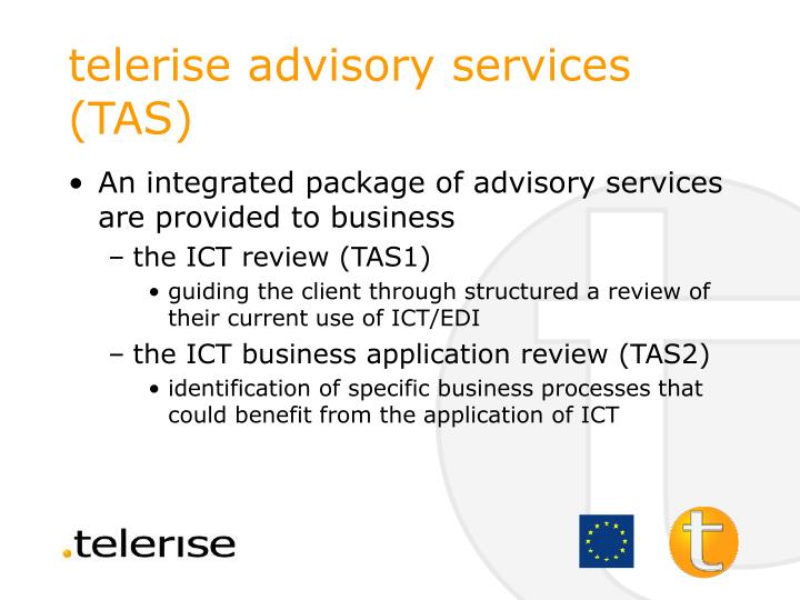 telerise advisory services (TAS)