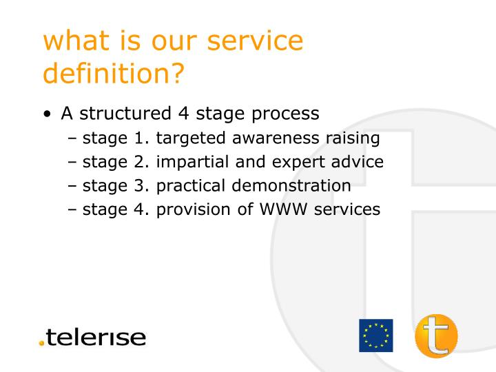 what is our service definition?