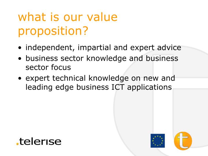 what is our value proposition?