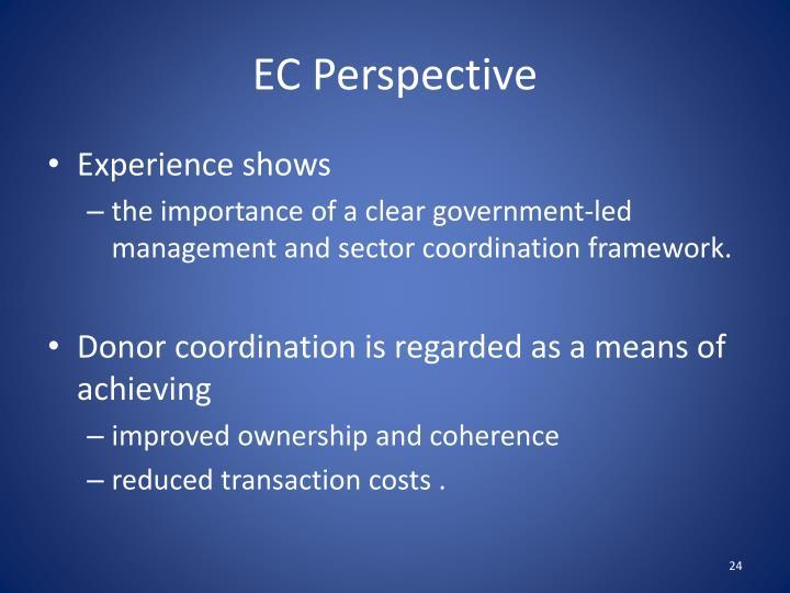 EC Perspective