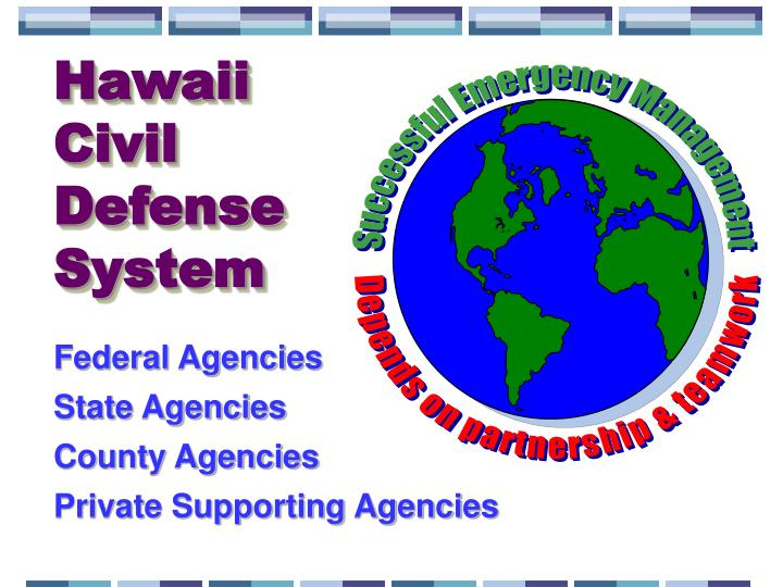Hawaii Civil Defense System