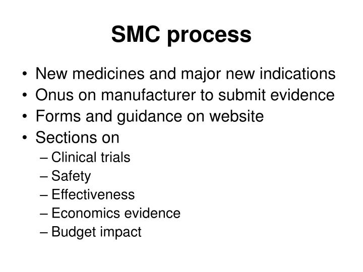 SMC process