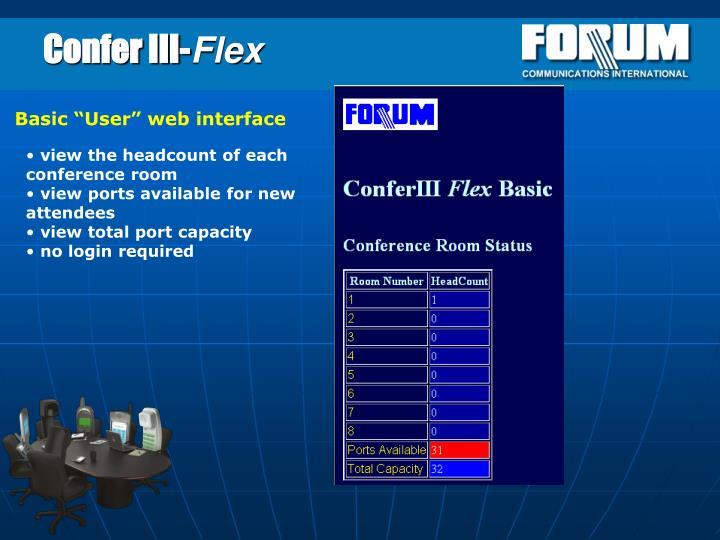 Confer III-