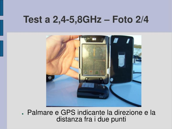 Test a 2,4-5,8GHz – Foto 2/4