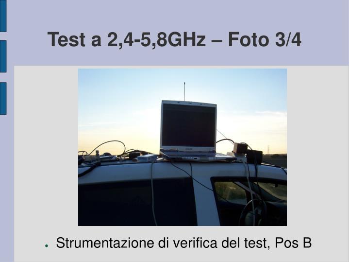 Test a 2,4-5,8GHz – Foto 3/4