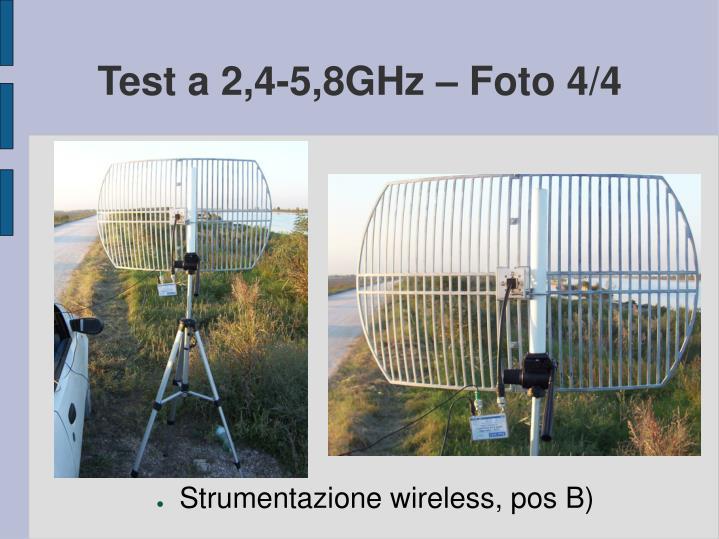 Test a 2,4-5,8GHz – Foto 4/4