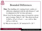 bounded differences7