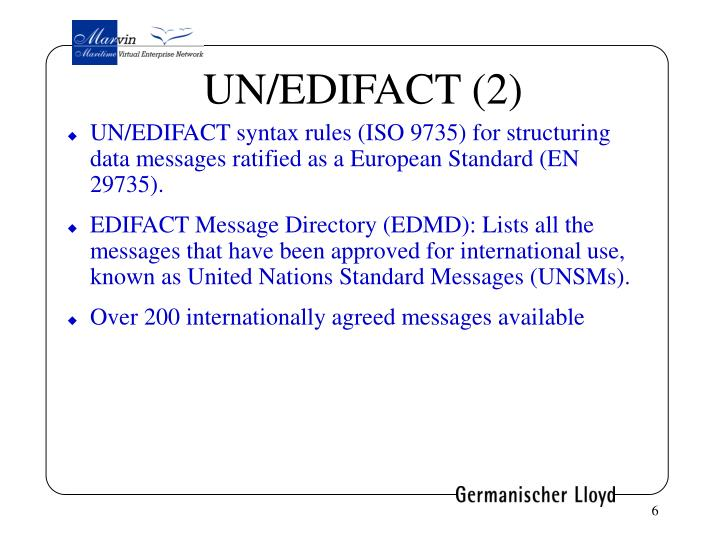UN/EDIFACT (2)