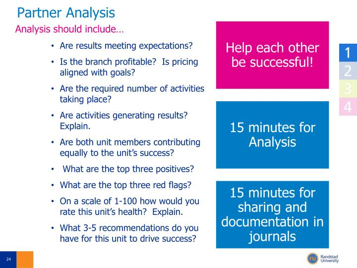 Partner Analysis