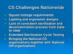 cs challenges nationwide