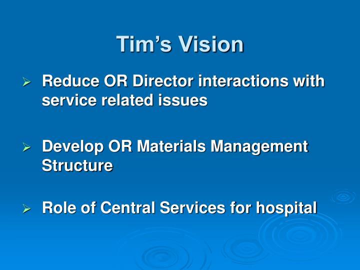 Tim's Vision