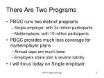 there are two programs