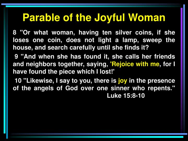 Parable of the Joyful Woman