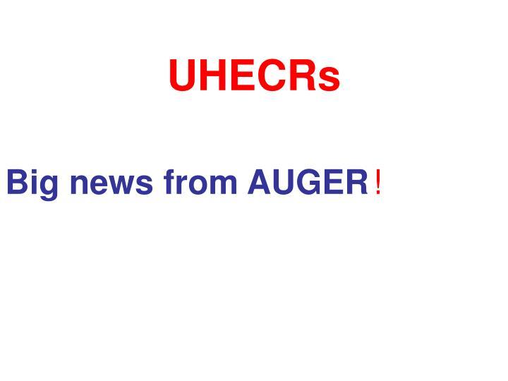 UHECRs